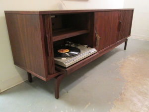 Beautiful 1960s credenza produced in NC